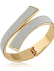 preiswerte -Damen Armreife Manschetten-Armbänder - Erklärung, Retro, Modisch Armbänder Gold / Silber Für Party Geschenk