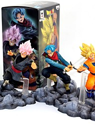 economico -action figures anime ispirate al dragon ball goku pvc modello da 10 cm giocattolo bambola