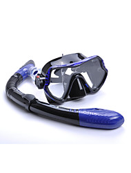 cheap -Snorkeling Packages Diving Mask Snorkels Anti-Fog Diving Snorkeling Silicon Rubber