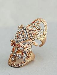 preiswerte -Herrn Damen Stulpring Strass Gold Silber Diamantimitate Aleación Irregulär Schmuck mit Aussage Modisch Alltag Modeschmuck