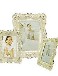 cheap -Antique Classic European Style Alloy Silver Electroplated Emboss Picture Frames Wall Decorations, 1pc