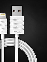 economico -Illuminazione Adattatore cavo USB Carica rapida Per iPhone 200 cm Plastica