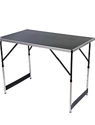 Недорогие -Туристический стол На открытом воздухе Складной Aluminum Alloy для Походы - Черный