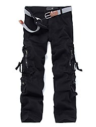 cheap -Men's Hiking Pants Outdoor Windproof, Wearable Pants / Trousers Multisport