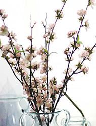 1 ブランチ ポリエステル プラスチック 桜 テーブルトップフラワー 人工花