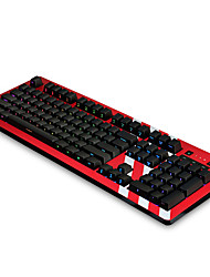 cheap -AJAZZ Ajazz- ak60 Wired RGB Backlit Silver Switch Blue Switches 110 Mechanical Keyboard Backlit