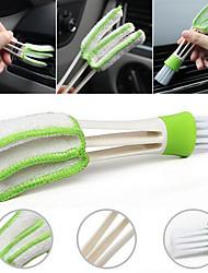 economico -1 pezzo di aria condizionata sfiato spazzole spazzola tessuto pulizia fornitura