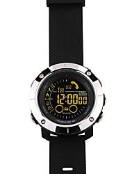Smart watch Idrorepellente prevenire la perdita Distanza del monitoraggio Passometro Promemoria di messaggio Avviso di chiamata Pedometro