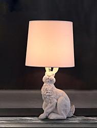 Lumière dirigée vers le bas Rétro / Vintage Lampe de Table Protection des Yeux Interrupteur ON/OFF Alimentation AC 220V Blanc Noir
