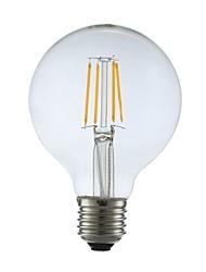 cheap -1pc 4W 400lm E27 LED Filament Bulbs G80 4 LEDs COB Decorative LED Lights Warm White 2700K AC 220-240V