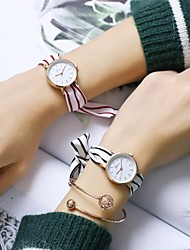cheap -Women's Wrist watch Casual Watch Chinese Quartz Casual Watch Fabric Band Casual Colorful Elegant Black White Blue Red