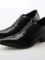 Недорогие -Для мужчин обувь Натуральная кожа Весна Осень Оригинальная обувь Формальная обувь Туфли на шнуровке для Свадьба Для вечеринки / ужина