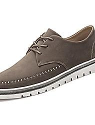 Masculino sapatos Courino Primavera Outono Solados com Luzes Tênis para Work & Safety Preto Cinzento Khaki
