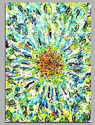 Hånd-malede Abstrakt Vertikal,Rustikt Kanvas Hang-Painted Oliemaleri Hjem Dekoration Et Panel