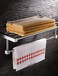 cheap -Towel Racks & Holders Modern Stainless Steel 1 pc - Hotel bath Double