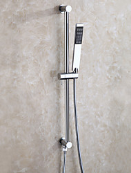 cheap -Shower Faucet - Contemporary Chrome Wall Installation