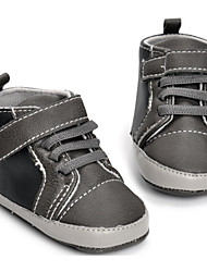 cheap -Baby Shoes PU Spring Summer First Walkers Comfort Sneakers for Casual Gray