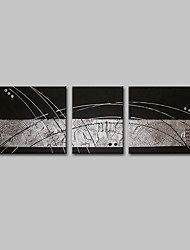 cheap -Hand-Painted POP Horizontal,Simple Modern Canvas Oil Painting Home Decoration Three Panels