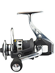 cheap -Fishing Reel Spinning Reel 4.7:1 Gear Ratio+13 Ball Bearings Hand Orientation Exchangable Sea Fishing Bait Casting Ice Fishing Spinning