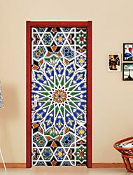 abordables -A fleurs/Botanique 3D Stickers muraux Autocollants muraux 3D Autocollants muraux décoratifs, Vinyle Décoration d'intérieur Calque Mural