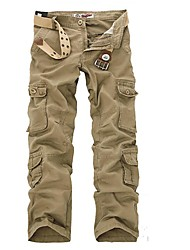 cheap -Men's Hiking Pants Outdoor Trainer Walking Pants / Trousers Fishing Camping Walking