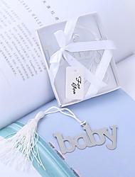 パーティー ベビーシャワー ステンレス鋼 実用的引出物 ベビーシャワー 結婚式 赤ちゃん 誕生日-1 7*4
