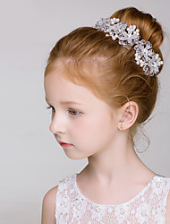 cheap -Crystal Imitation Pearl Headbands Flowers with Floral 1pc Wedding Party / Evening Headpiece