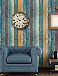 economico -Simil-legno Decorazioni per la casa Classico Rivestimento pareti, PVC Materiale Auto-adesivi sfondo, Carta da parati