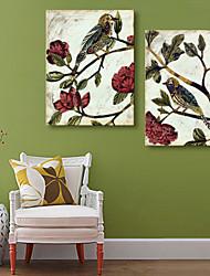 preiswerte -Leinwanddruck Modern, Zwei Panele Segeltuch Vertikal Druck Wand Dekoration Haus Dekoration
