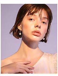 abordables -Femme Balle Imitation de perle 2pcs Boucles d'oreille goujon - Mode / Coréen Or Des boucles d'oreilles Pour Quotidien / Plein Air