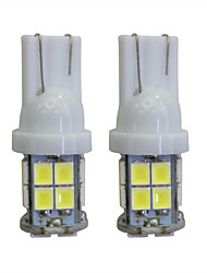 abordables -LORCOO 2pcs T10 Coche Bombillas 2 W 40 lm LED Luces interiores / 8000