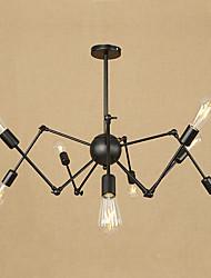 abordables -8 lumières Lustre Lumière d'ambiance - Style mini, 110-120V / 220-240V Ampoule non incluse / 15-20㎡ / E26 / E27