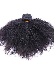 Недорогие -Малазийские волосы Необработанные Ткет человеческих волос 1шт Человека ткет Волосы