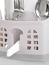 cheap -Plastic Easy to Use Flatware Organizers 1pc Kitchen Organization