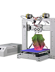 Athorbot couple buddy 2 em 1 extrusora dupla prusa i3 tamanho grande 270x 200x 170mm print single dual mixed graded color