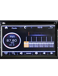 preiswerte -6,2-Zoll-Universal-High-Definition-Textur Auto-DVD-Navigation-Player Auto Audio-und Video-GPS-Navigation-Player