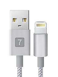 economico -Illuminazione Adattatore cavo USB Portatile Carica rapida Per iPhone 18 cm Plastica