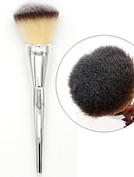 cheap Blush Brushes-1pc Professional Makeup Brushes Blush Brush Others / Synthetic Hair / Nylon Eco-friendly / Professional / Soft Stainless Steel Blush