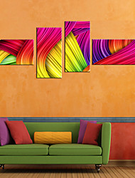 baratos -Tela de impressão Rústico Modern, 4 Painéis Tela de pintura Panorâmico horizontal Estampado Decoração de Parede Decoração para casa