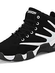 preiswerte -Unisex Schuhe Kunststoff Winter Herbst Komfort Sportschuhe Basketball für Sportlich Normal Weiß Dunkelblau Rot