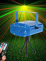 U'King Laser Stage Light Sound-Activated Remote Control Music-Activated 10 for For Home Outdoor Party Stage Wedding Club Professional