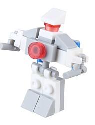 abordables -Robot Blocs de Construction 24 pcs Soulagement de stress et l'anxiété Interaction parent-enfant Jouets de décompression Nouveauté Enfant