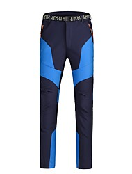 cheap -Men's Ski / Snow Pants Warm Waterproof Windproof Wearable Antistatic Breathability Snow Sports Chinlon
