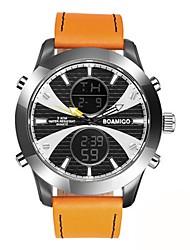 cheap -Men's Kid's Fashion Watch Dress Watch Wrist watch Japanese Quartz Calendar / date / day Chronograph Water Resistant / Water Proof Dual