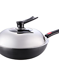 cheap -Other Other Flat Pan Wok,32