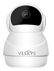 abordables -veskys® 2.0mp 1080p hd sans fil ip ptz caméra / vision nocturne / intercom bidirectionnel