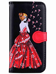 cheap -Case For Samsung Galaxy S8 Plus S8 Card Holder Wallet with Stand Flip Magnetic Pattern Full Body Sexy Lady Hard PU Leather for S8 Plus S8