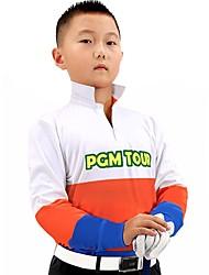Bambini Manica corta Golf T-shirt Felpa Allenamento Traspirabilità Golf