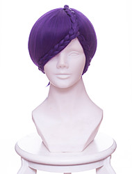 cheap -Cosplay Wigs Land of the Lustrous Amethyst33 Anime Cosplay Wigs 33 CM Heat Resistant Fiber Unisex