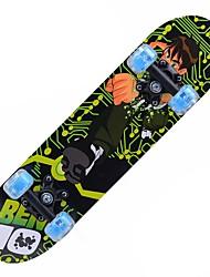 23 дюймы Стандартные скейтборды На каждый день Спортивный ACDE-9-Желтый Бледно-розовый цвет Зеленый